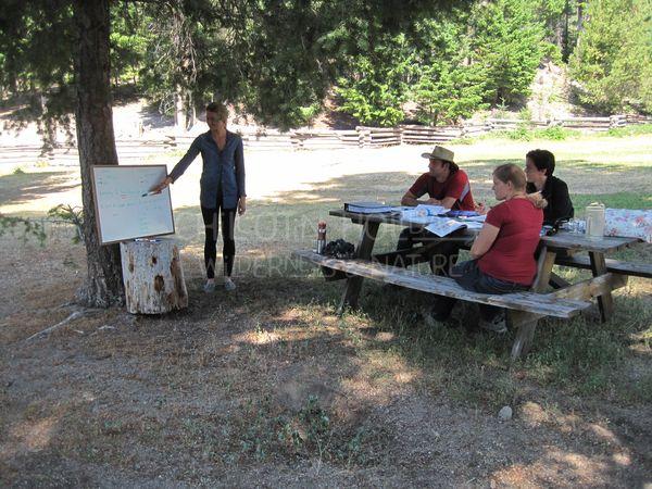 ESL 2nd language in Wilderness Class