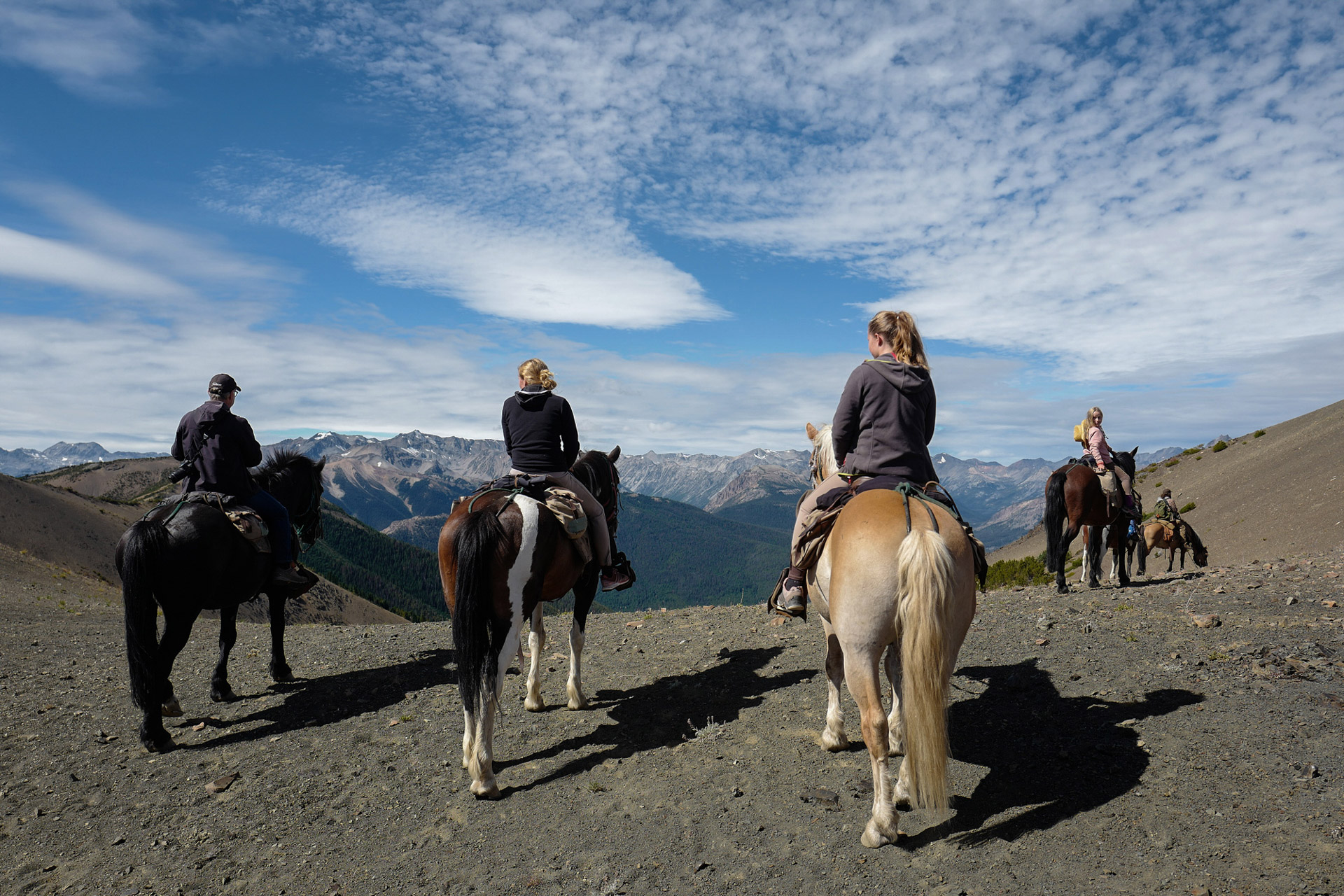 Chilcotin Holidays Horse Pack Trip