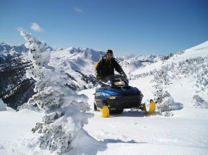 Snowmobile Vacations in Chilcotin Mountains