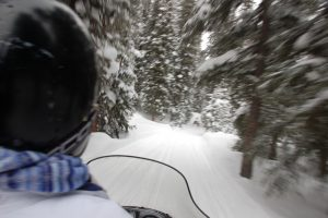 Snowmobile Vacations in Chilcotin Holidays